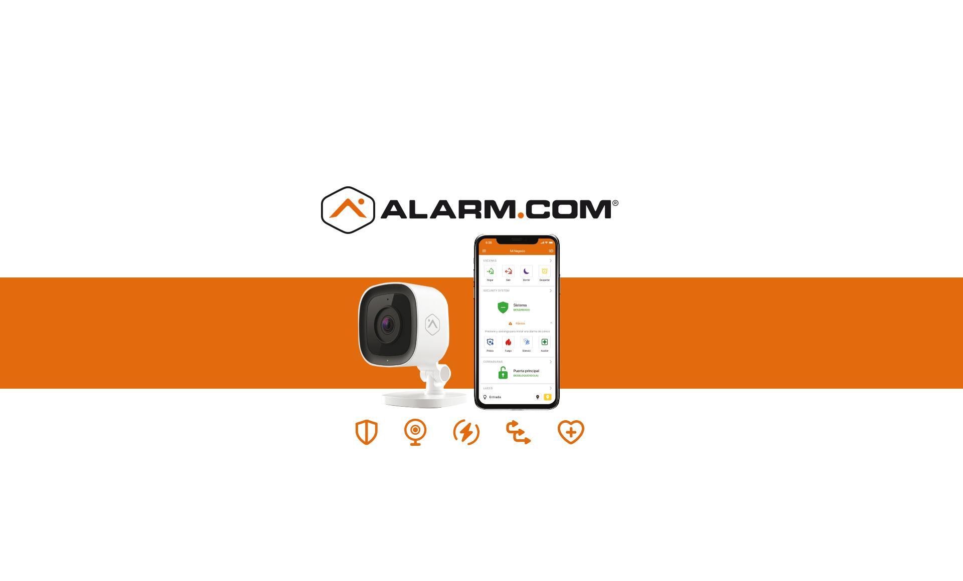 <b>Nouvel accord de distribution entre By Demes et Alarm.com!</b>