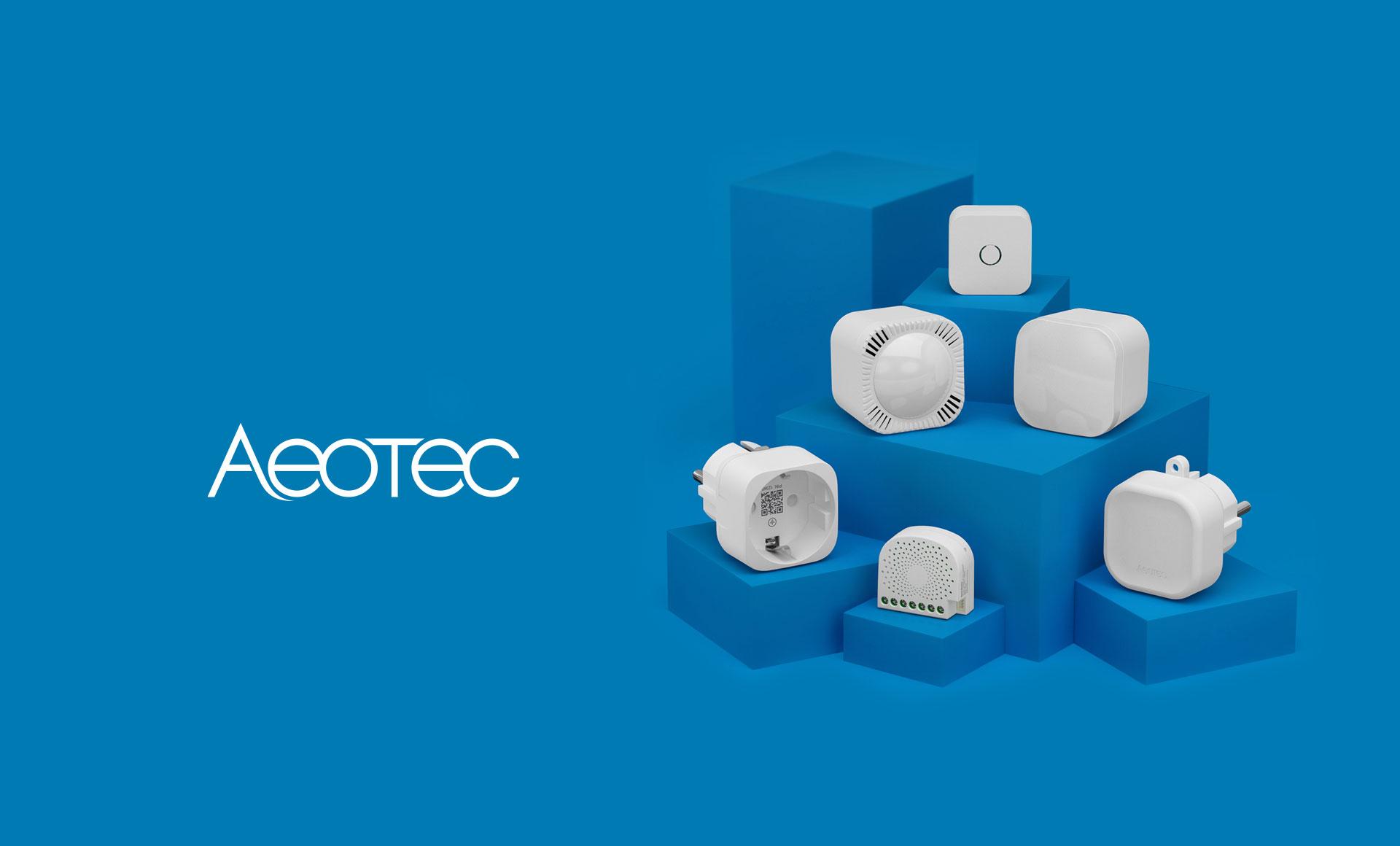 <b>¡Somos distribuidores oficiales de Aeotec!</b>