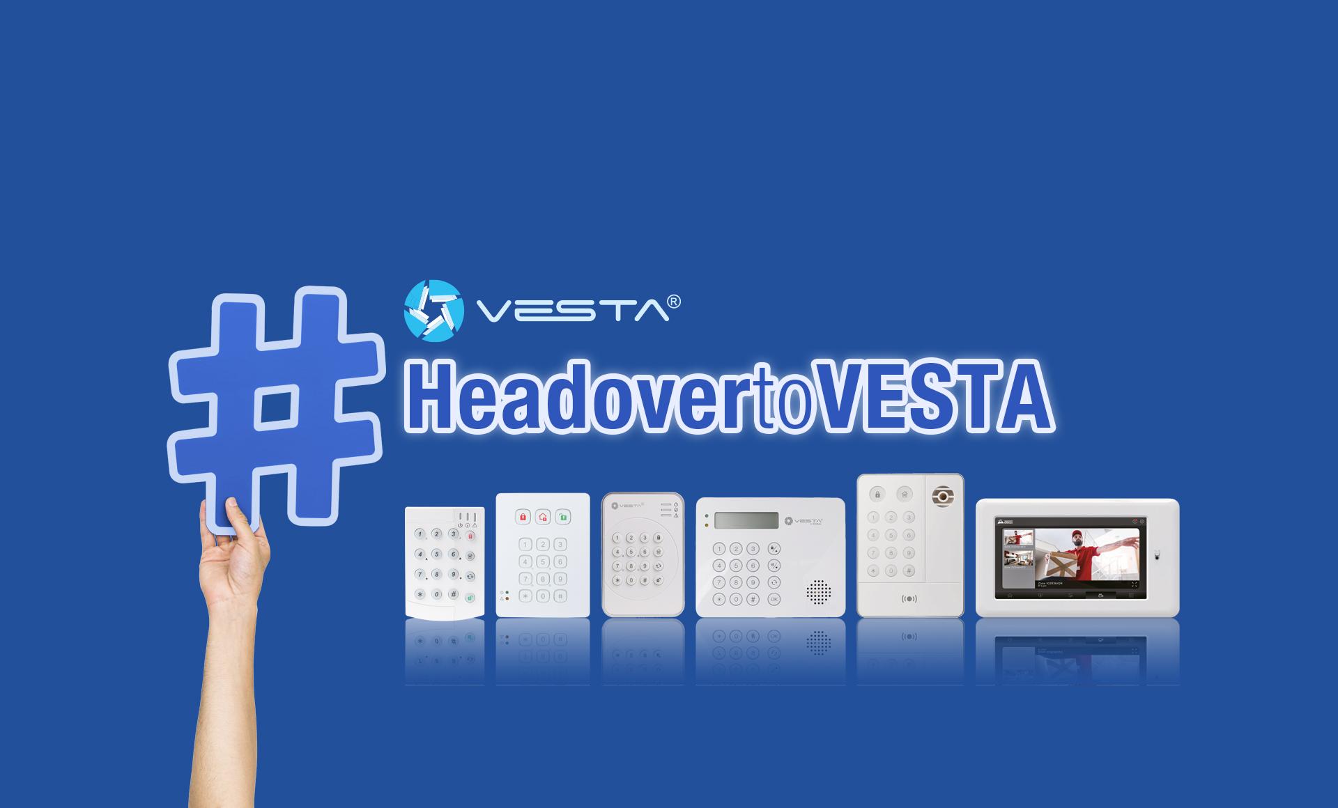 <b>Maximum variety of high-tech keypads, only with VESTA!</b>