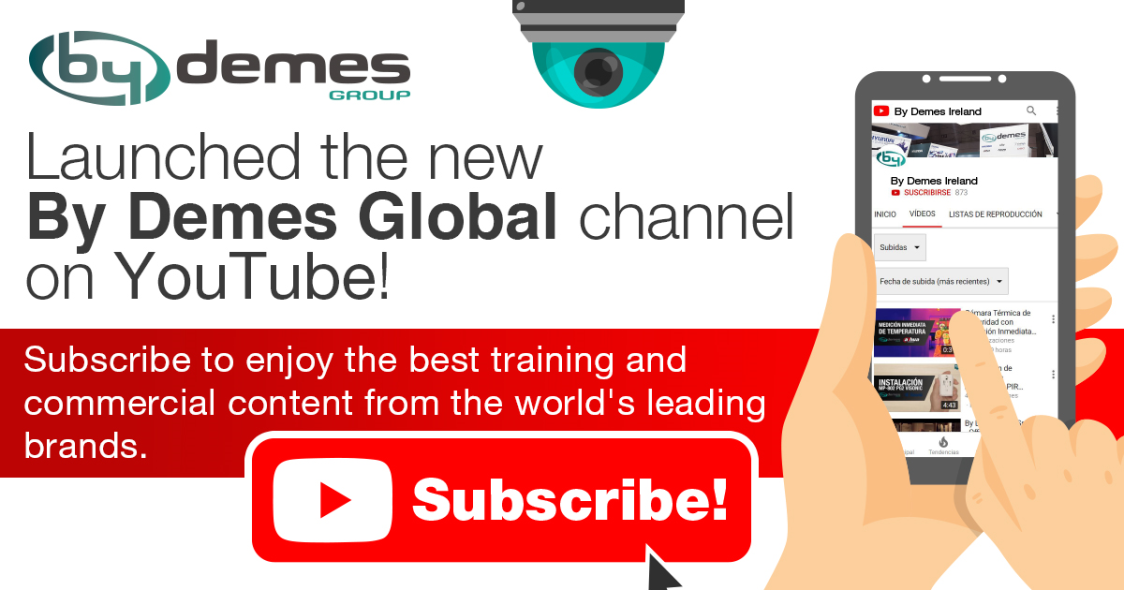 Launched the new By Demes Global channel on YouTube with the best training and commercial content in English!