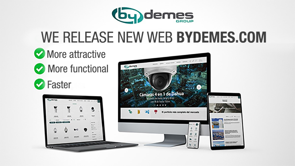 We release new web bydemes.com