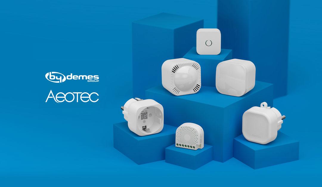 By Demes, nuevo distribuidor de la domótica de Aeotec en España