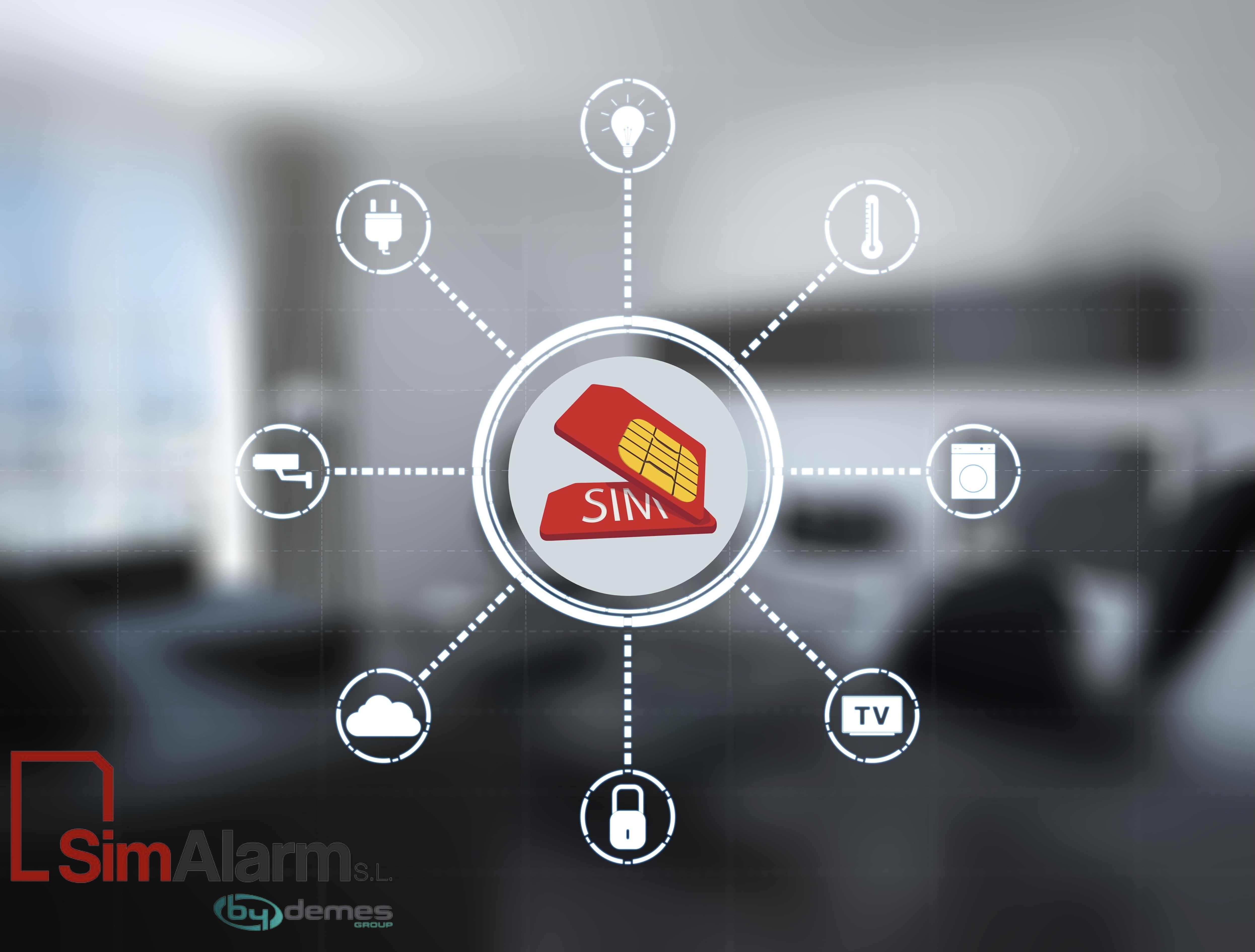 Tarjeta SIM para Alarma de SimAlarm: ventajas y activación