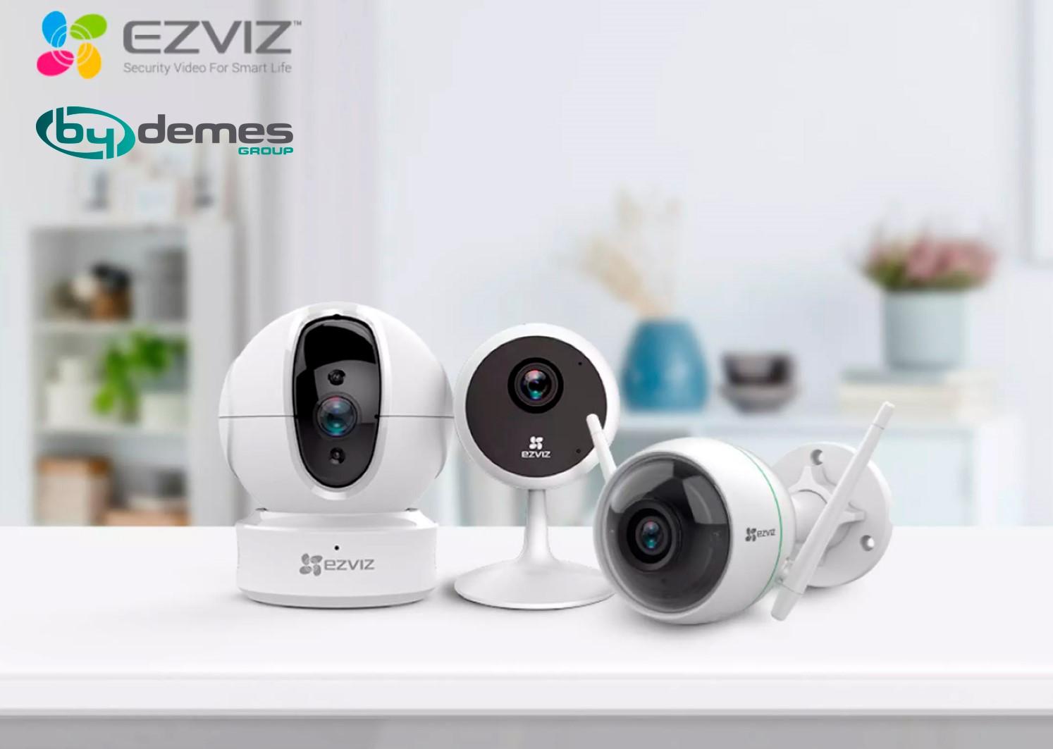Nuevo acuerdo comercial entre By Demes Group y EZVIZ en España