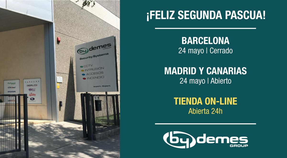 El 24 de mayo cerramos en Barcelona